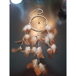Dreamcatcher brown and white